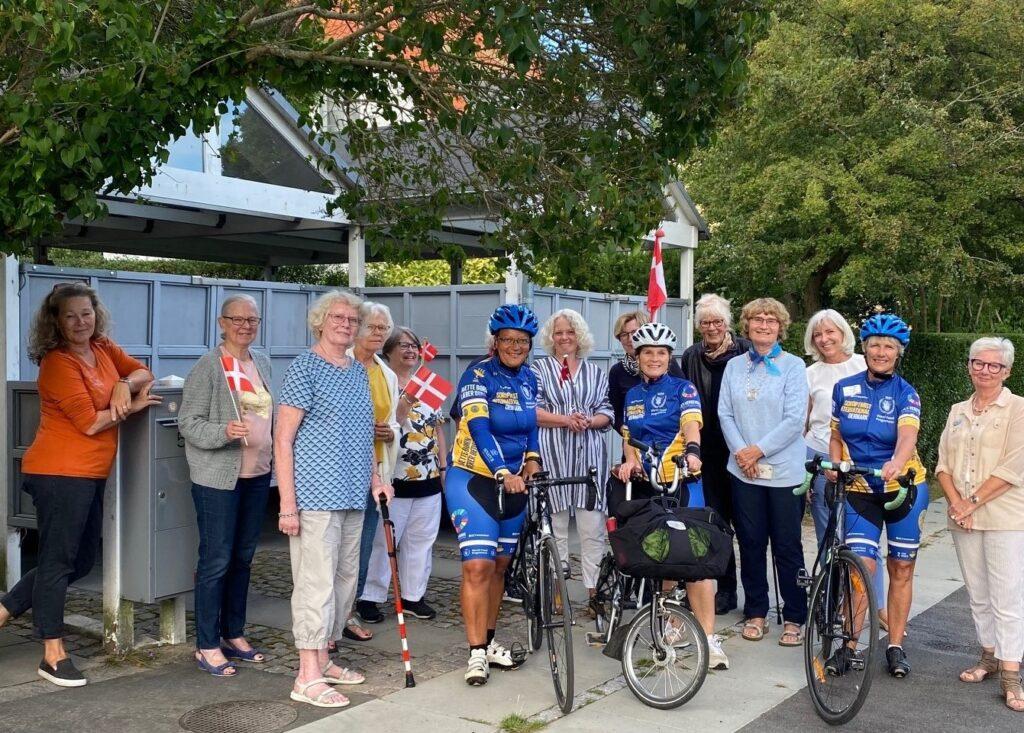 Besøg af cyklister