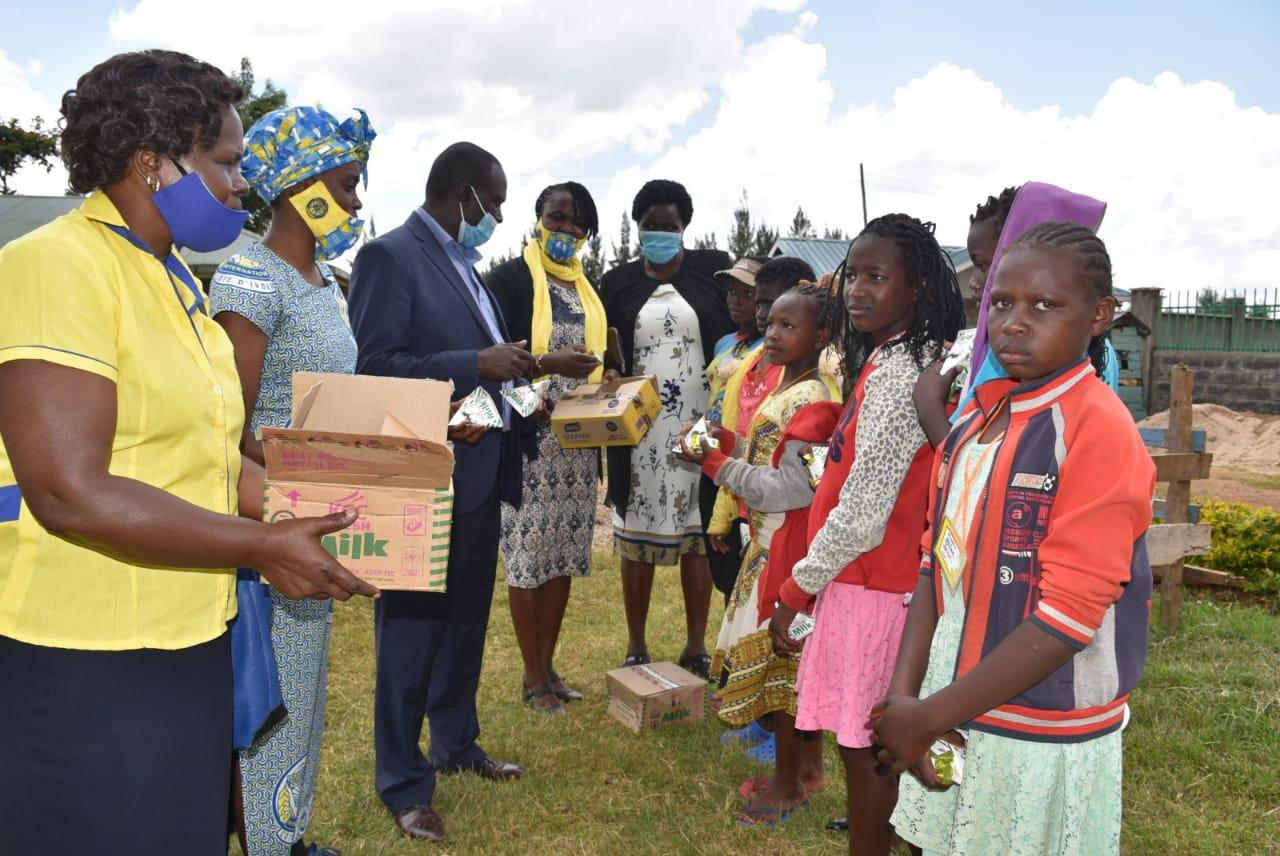 Hjælp til piger i Kenya i Afrika
