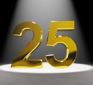 25 jubilæum