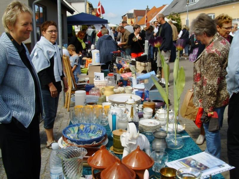 Loppemarked ved Sommerstart