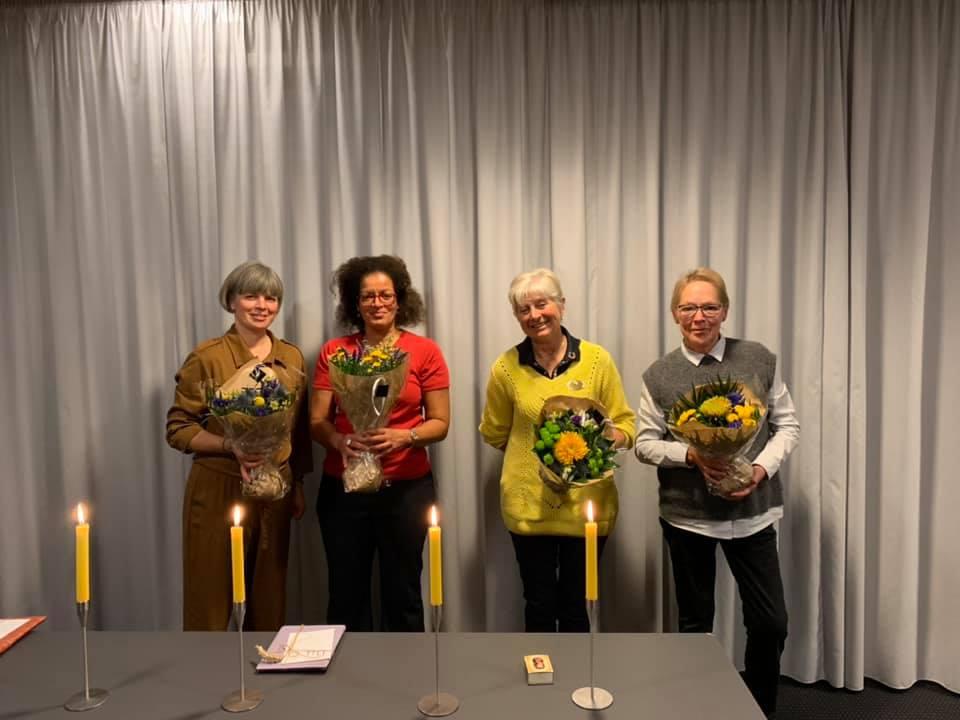 4 nye medlemmer